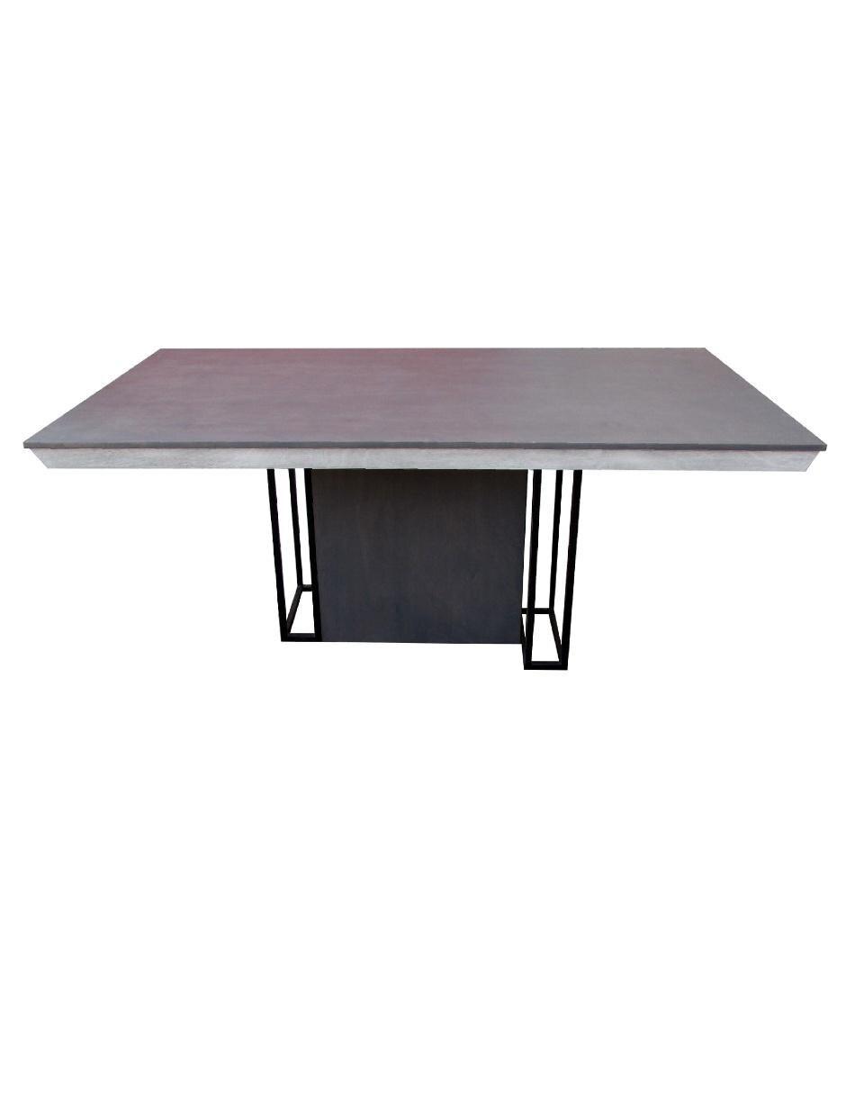Ekai mesa rectangular moderna gris for Comedores cyber monday